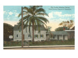 Cooke Mission House, Honolulu, Hawaii Posters