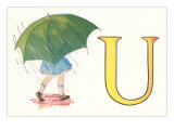 U, Umbrella Prints