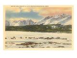 Sawtooth Mountains, Idaho Prints