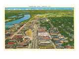 Aerial View, Augusta Prints