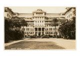 Moana Hotel, Waikiki, Hawaii Print