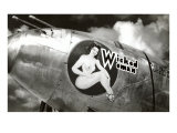 Nose Art, Wicked Woman Pin-Up Photo