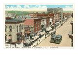 Downtown Aurora, Illinois Prints