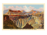 Sunset, Granite Gorge, Grand Canyon Prints