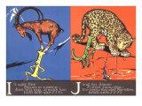 Ibex and Jaguar Prints