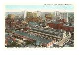 Aerial View of State Capitol, Atlanta, Georgia Print