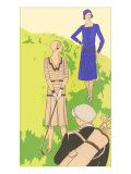 Flappers golfing Posters