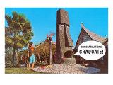 Congratulations Graduate, Tiki Print