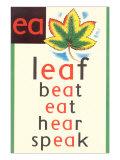 EA in Leaf Posters
