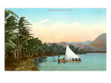 Coconut Island, Hawaii Posters