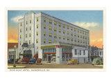 Dixie-Hunt Hotel, Gainesville, Georgia Posters