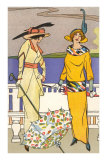 French Fashion, Art Deco Prints