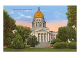 State Capitol, Boise, Idaho Prints