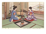 Two Geishas, Photograph Posters