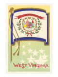Flag of West Virginia Posters