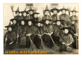 Class Picture of Witches Posters