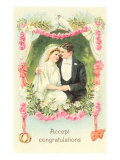 Accept Congratulations, Couple Prints