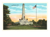 Lincoln Tomb, Springfield, Illinois Poster