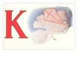 K, Kite Print
