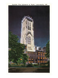 Scottish Rite Cathedral, Indianapolis, Indiana Posters