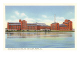 Hiram Walker Distillery, Peoria, Illinois Prints