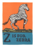 Z is for Zebra Poster
