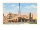 Shrine Mosque and Fox Theatre, Atlanta, Georgia Prints