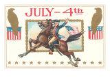 Revolutionary Horseman Poster