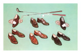 Golf Shoes Posters