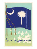 Flag of South Carolina Prints