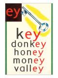 EY in Key Print