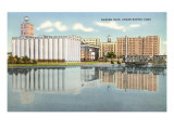 Quaker Oats Plant, Cedar Rapids, Iowa Prints