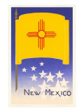 Flag of New Mexico Prints