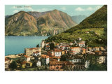 View of Lugano, Italy Art