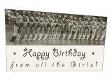 Happy Birthday, Cowgirl Chorus Line Prints