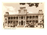 Capitol Building, Honolulu, Hawaii Prints