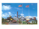 Sugar Mill, Oahu, Hawaii Posters