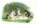 Kittens' Picnic Posters