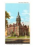 Courthouse, Wabash, Indiana Poster