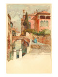 Painting of Venice, Italy Prints