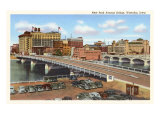 Bridge, Waterloo, Iowa Prints