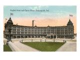 English Hotel, Indianapolis, Indiana Prints