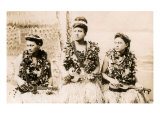 Girls with Ukuleles, Hawaii, Photo Posters