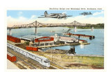 MacArthur Bridge, Burlington, Iowa Prints
