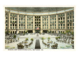 Interior, West Baden Springs, Indiana Prints