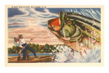 Landing Giant Fish Posters