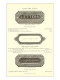 Letter Box Plates Prints