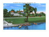 Riverside Park, Indianapolis, Indiana Art