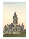 Methodist Church, Moscow, Idaho Prints