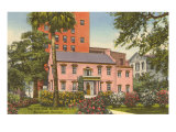 Old Pink House, Savannah, Georgia Prints